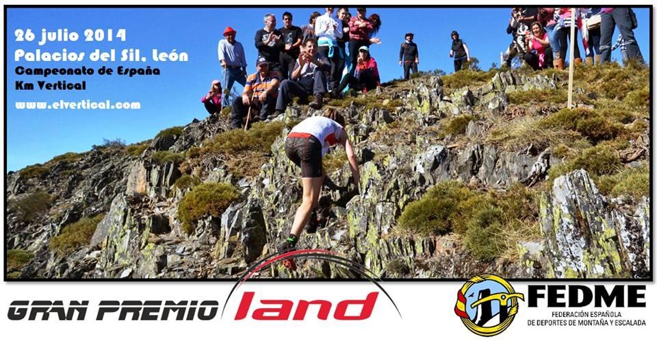 Campeonato de España km Vertical En Palacios del Sil